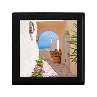 View in Santorini island Gift Box