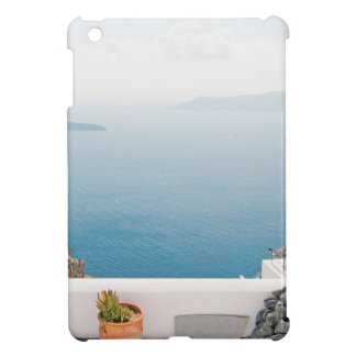 View in Santorini island iPad Mini Cover