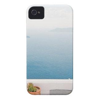 View in Santorini island iPhone 4 Case-Mate Cases