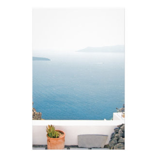View in Santorini island Stationery
