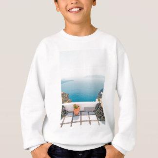 View in Santorini island Sweatshirt