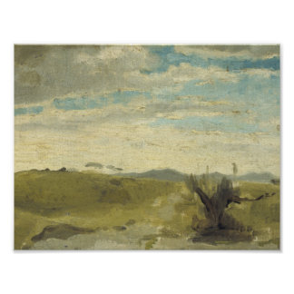 View in the Dunes near Dekkersduin, The Hague, Geo Poster