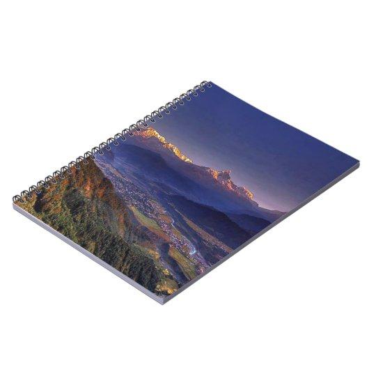 View Landscape  : HIMALAYA POKHARA NEPAL Notebook