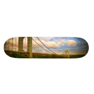 View looking South - West from Manhattan Skateboards