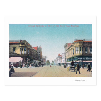 View of 13th Street from BroadwayOakland, CA Postcard