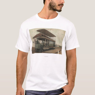 View of a Double Decker Cable Car T-Shirt