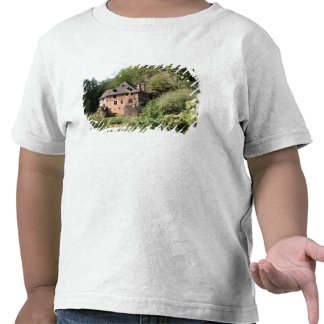 View of a manor house (photo) tshirts