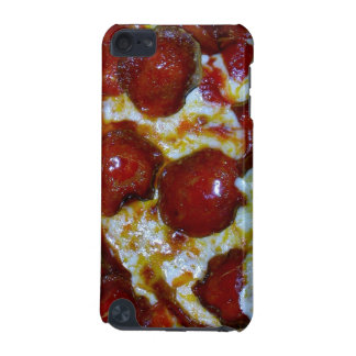View of a Pepperoni Pizza iPod Touch (5th Generation) Cases