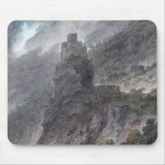 View of a Schloss between Bolzano and Trent, (w/c) Mouse Pad