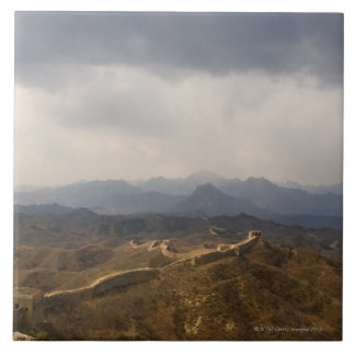 View of a section of the Great Wall of China Ceramic Tiles