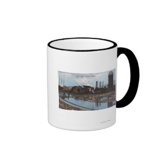 View of a Slade Mill Mugs