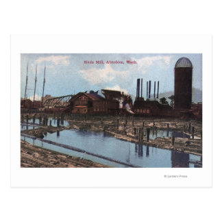 View of a Slade Mill Postcard