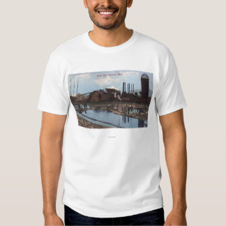 View of a Slade Mill T-shirts