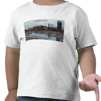 View of a Slade Mill T Shirt