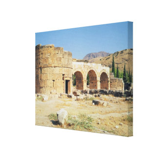 View of a triumphal arch gallery wrap canvas