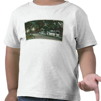 View of a US Military Camp Tee Shirts