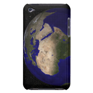 View of Africa, Europe, the Middle East, and In Case-Mate iPod Touch Case