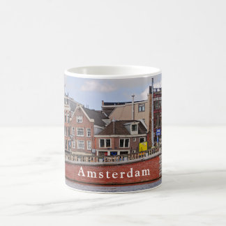 """View of Amsterdam in the area of the """"blue bridge"""" Coffee Mug"""