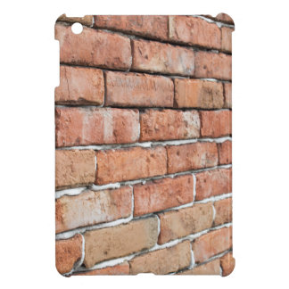 View of an old brick wall with a blur at an angle iPad mini cases
