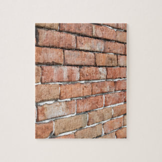 View of an old brick wall with a blur at an angle jigsaw puzzle