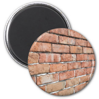 View of an old brick wall with a blur at an angle magnet