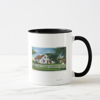 View of an Old Cape Cod Home Mug