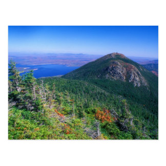 View of Avery Peak, Bigelow Mountain Postcard