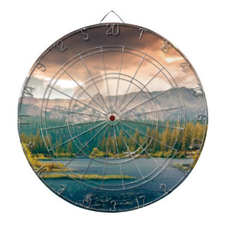 view of beauty and wonder dartboard