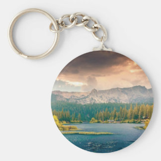 view of beauty and wonder keychain