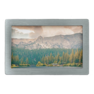 view of beauty and wonder rectangular belt buckle