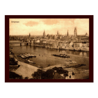 View of Bremen Germany 1920 Vintage Postcard