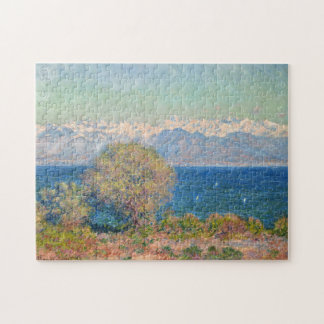 View of Cap D'Antibes Monet Fine Art Jigsaw Puzzle