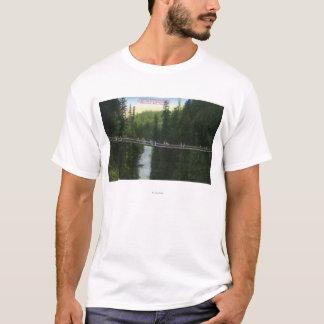 View of Capilano Suspension Bridge T-Shirt