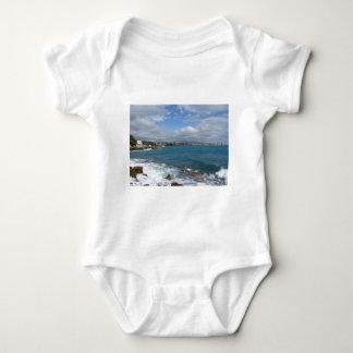 View of Castiglioncello coast near Livorno city Baby Bodysuit