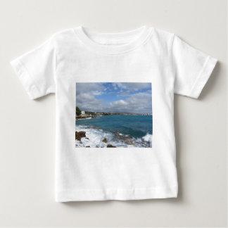 View of Castiglioncello coast near Livorno city Baby T-Shirt