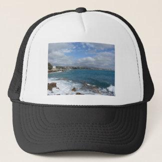 View of Castiglioncello coast near Livorno city Trucker Hat