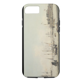 View of Castle Cornet, Guernsey, with Shipping, c. iPhone 7 Case