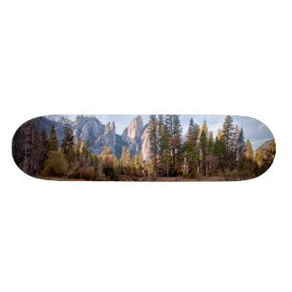 View of Cathedral Peaks Skate Boards