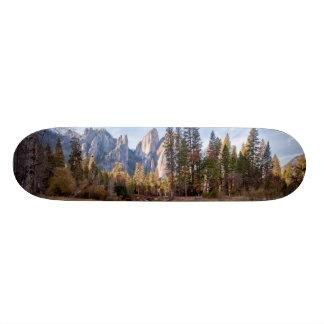 View of Cathedral Peaks Skate Decks