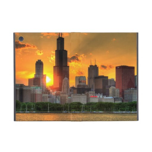 View of Chicago's skyline from  Adler iPad Mini Covers
