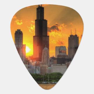 View of Chicago's skyline from  Adler Pick