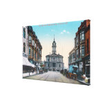 View of City Hall Bldg from Washington St Canvas Print
