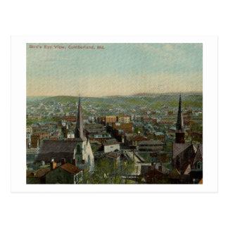 View of Cumberland, Maryland 1911 Vintage Postcard