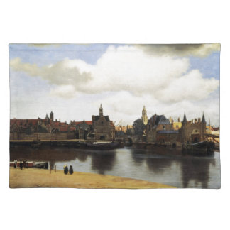 View of Delft by Johannes Vermeer Placemat