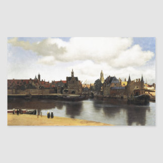 View of Delft by Johannes Vermeer Sticker