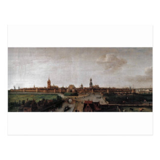 View of Delft from the Southwest by Hendrick Postcard