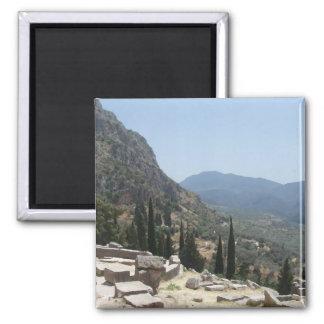View of Delphi, Greece Magnet