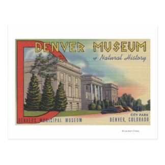 View of Denver Museum of Natural History Postcard