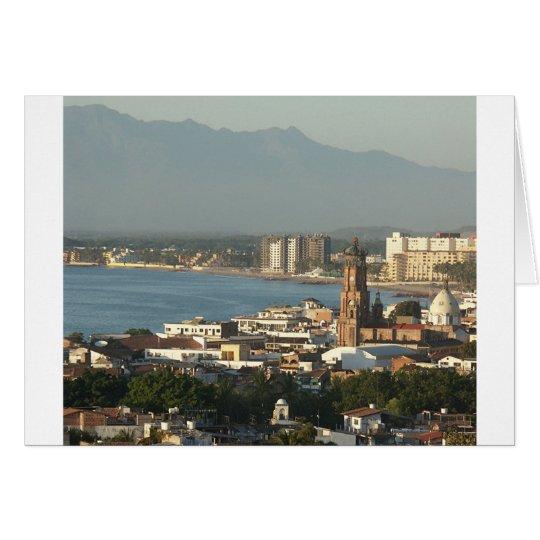View of Downtown Puerto Vallarta Card