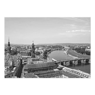 View of Dresden from the Frauenkirche Photo Print